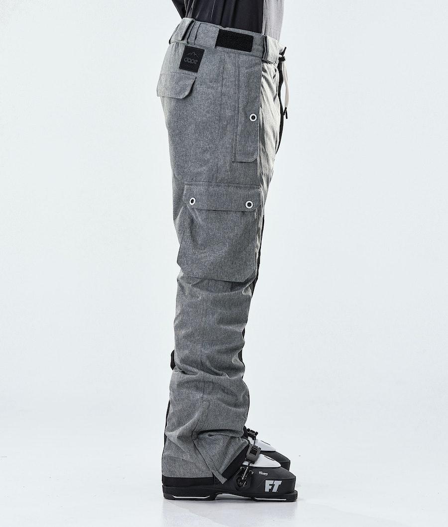 Dope Adept Ski Pants Grey Melange/Black