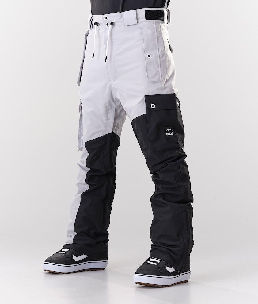 Dope Adept Snowboardbukse Light Grey/Black