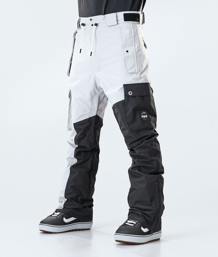 Dope Adept Pantalon de Snowboard Light Grey/Black