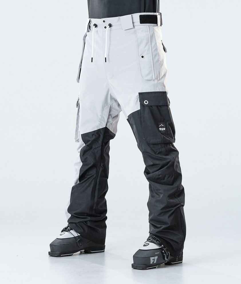 Dope Adept Ski Pants Light Grey/Black