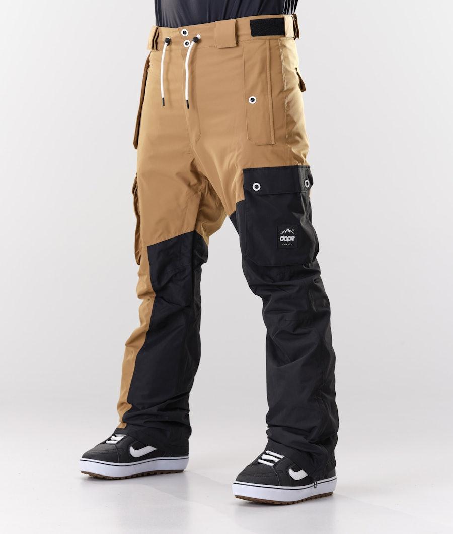 Dope Adept Snowboardhose Gold/Black