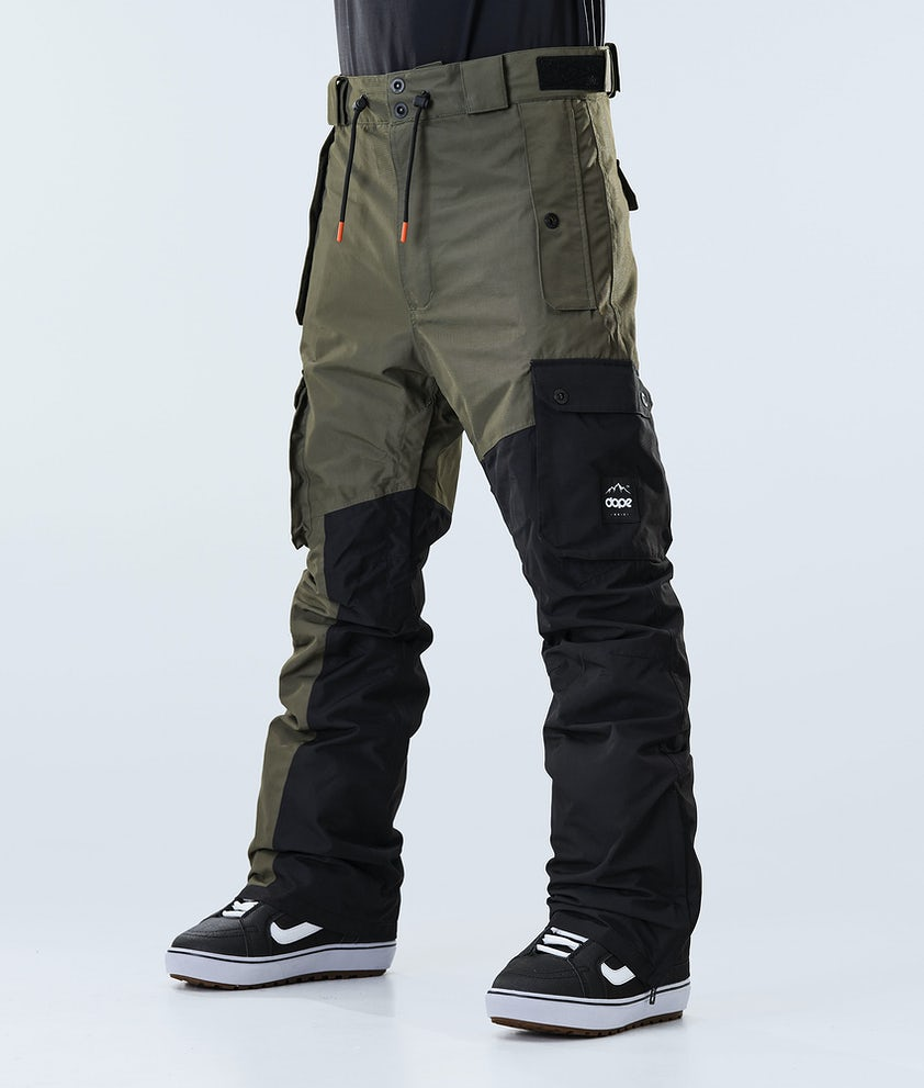 Dope Adept Snowboard Pants Olive Green/Black