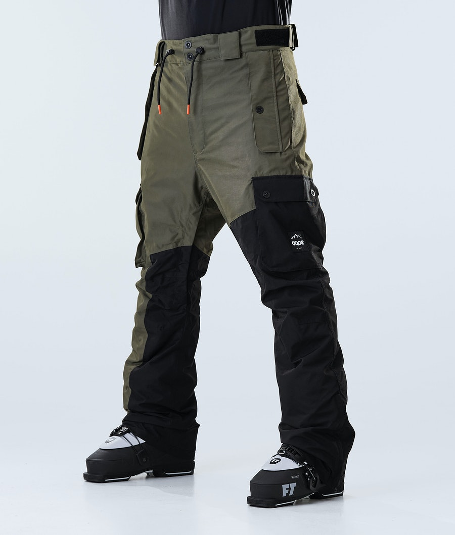 Dope Adept Ski Pants Olive Green/Black