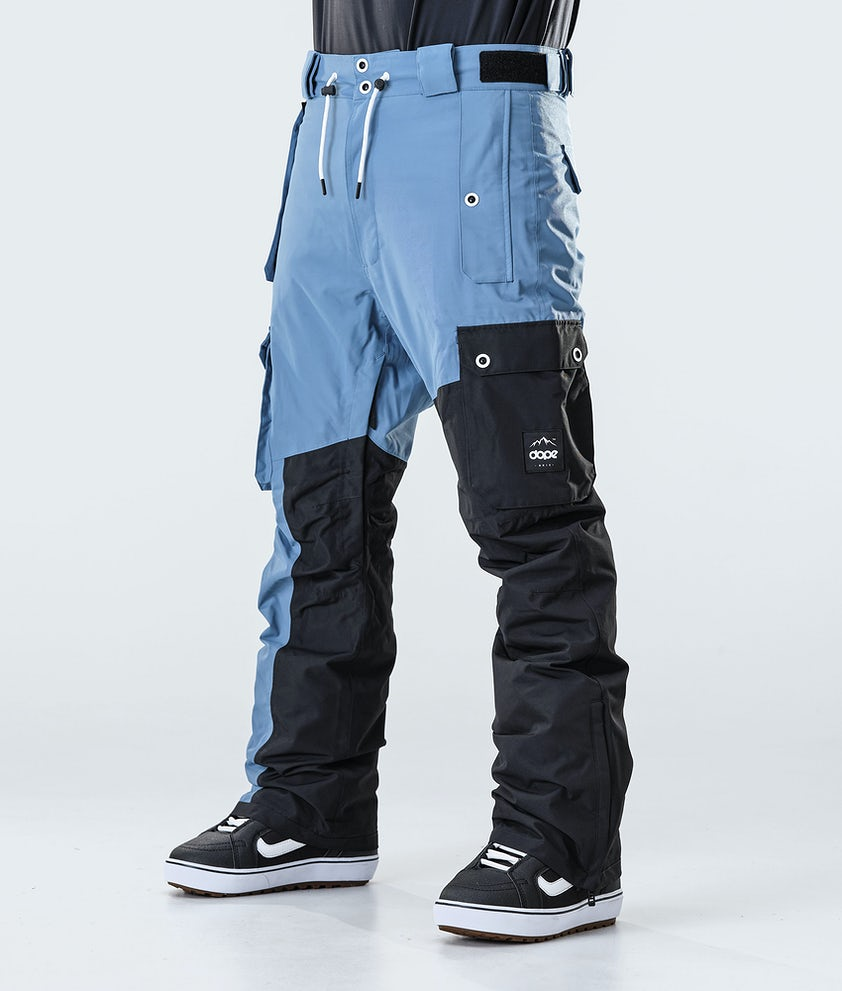 Dope Adept Snowboard Pants Blue Steel/Black