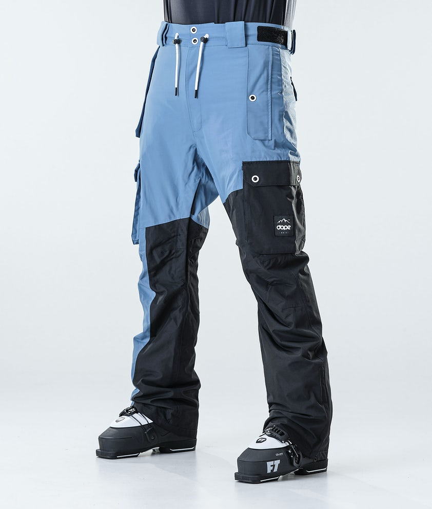 Dope Adept Skihose Blue Steel/Black
