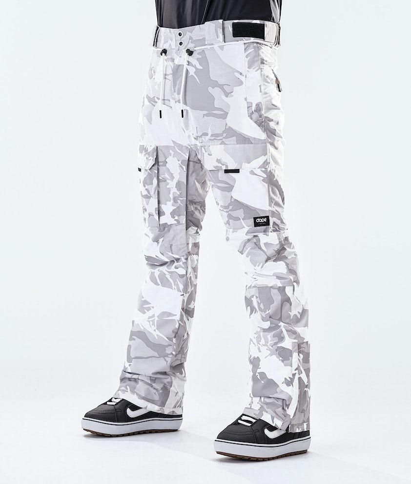 Dope Poise Snowboard Pants Tucks Camo