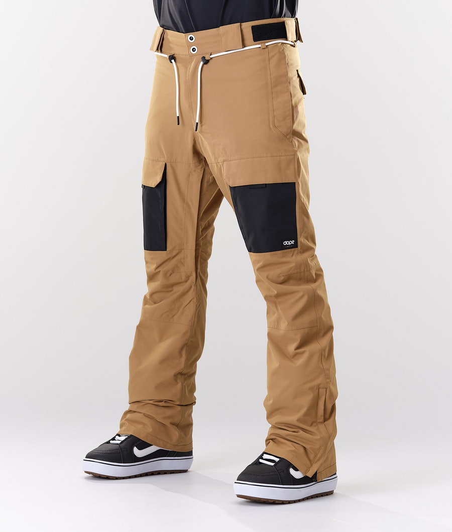 Dope Poise Snow Pants Gold/Black