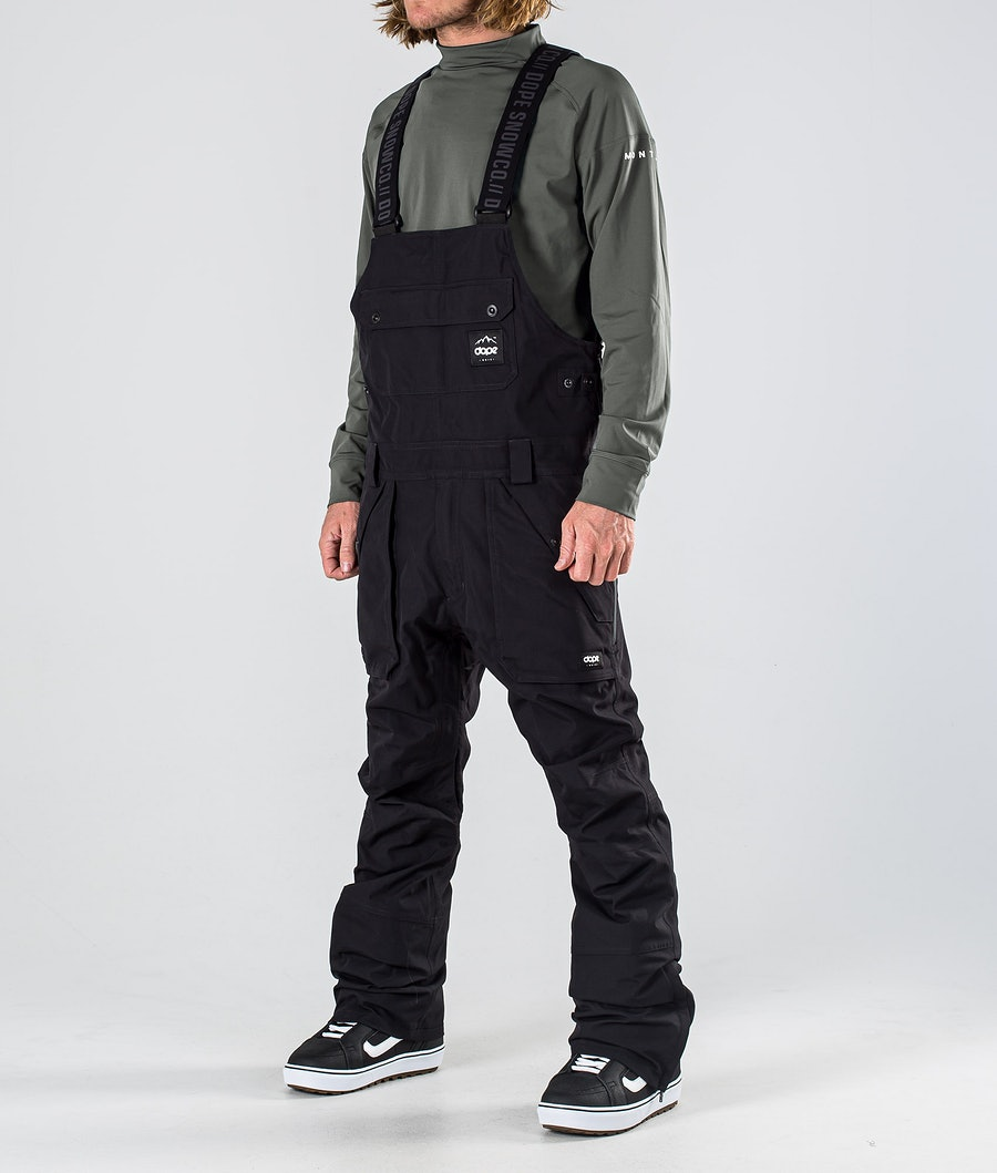 Dope Notorious B.I.B Snowboard Broek Black