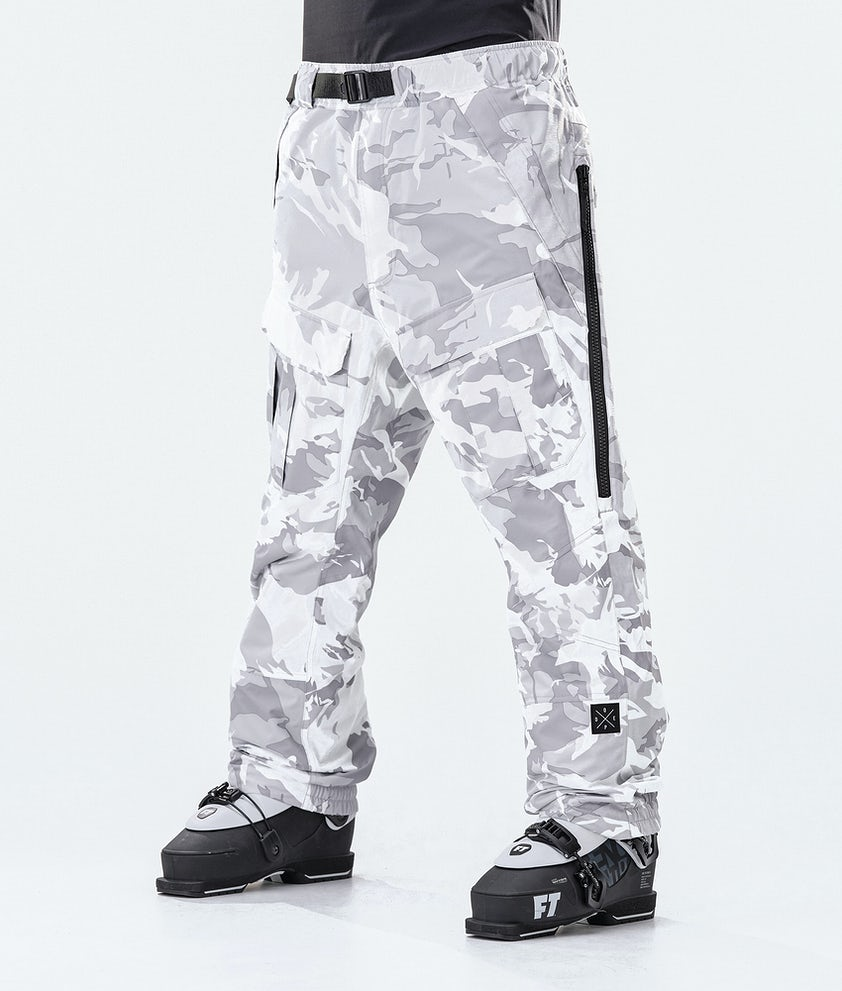 Dope Antek Ski Pants Tucks Camo