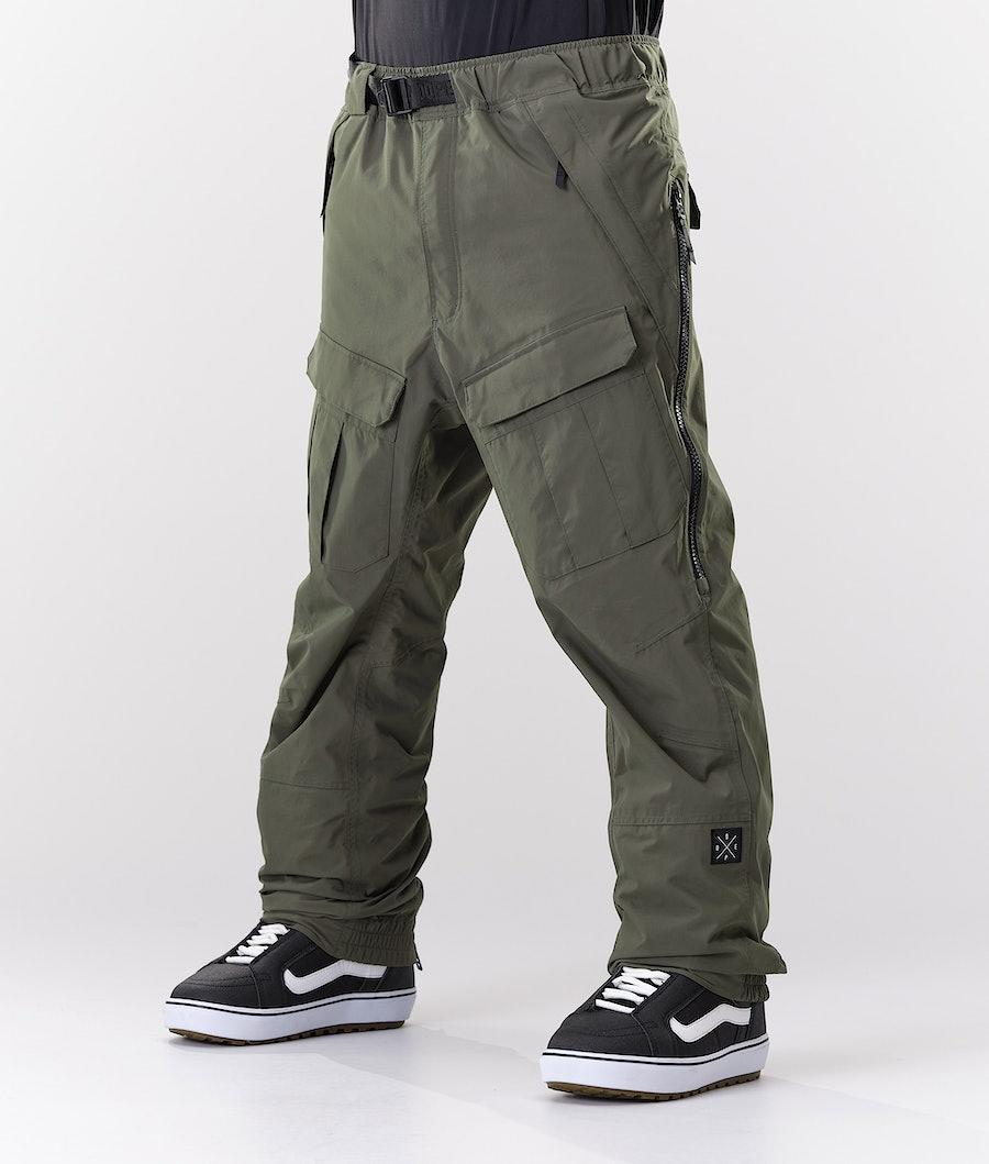 Dope Antek Snowboardhose Olive Green