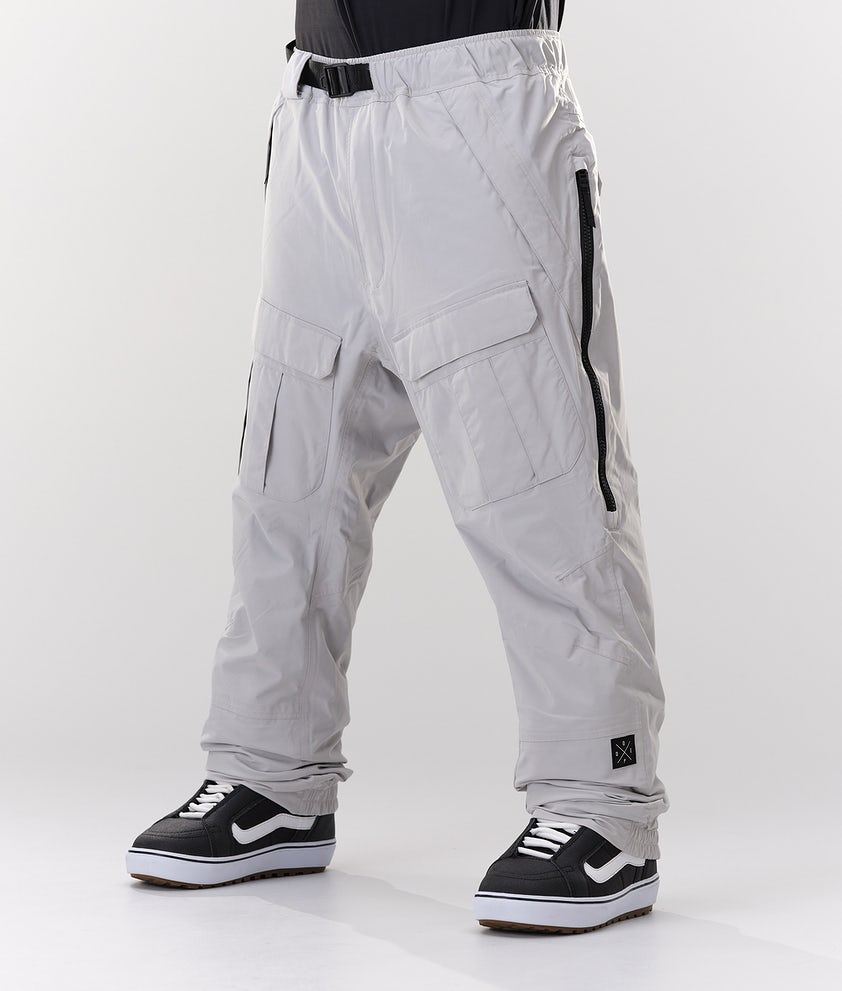 Dope Antek Pantaloni da Snowboard Light Grey