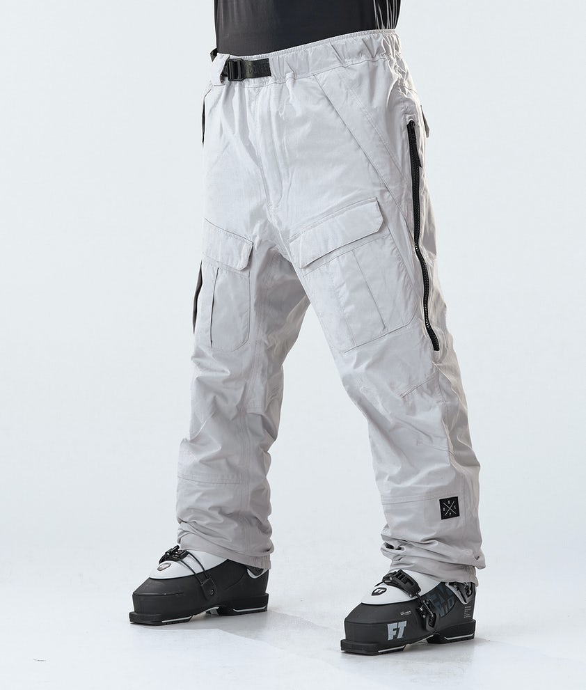 Dope Antek Ski Pants Light Grey