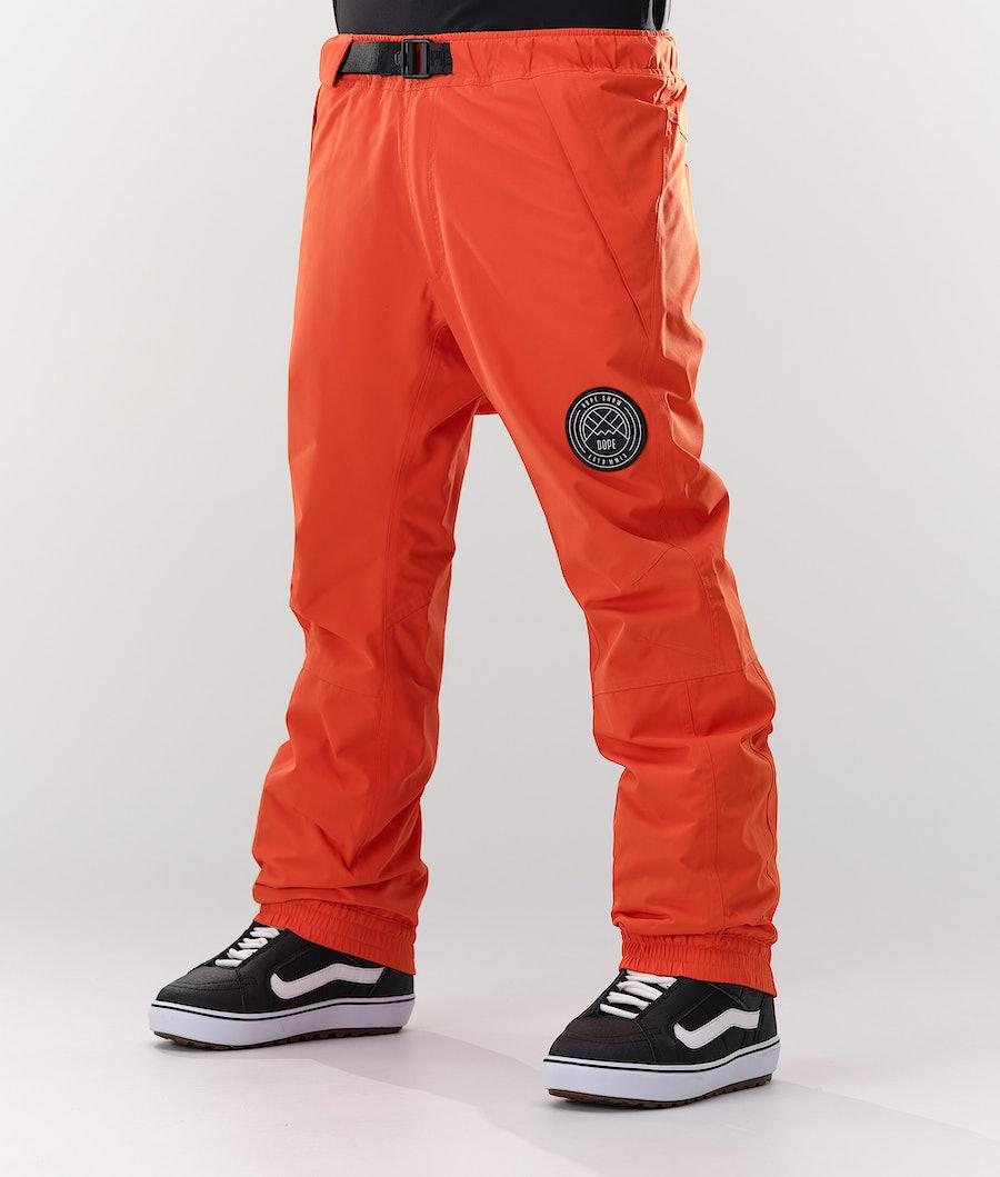 Dope Blizzard Snowboardhose Orange
