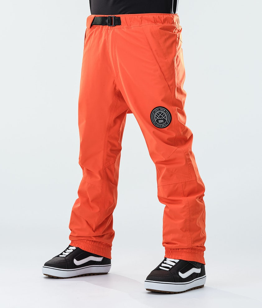 Dope Blizzard Snowboard Pants Orange