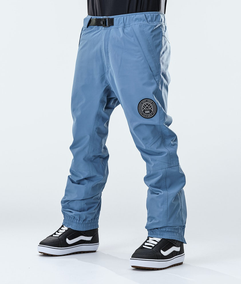 Dope Blizzard Snowboard Pants Blue Steel