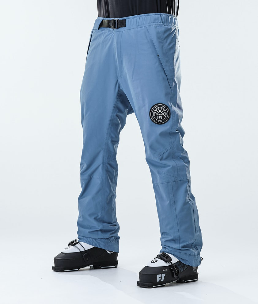 Dope Blizzard Ski Pants Blue Steel