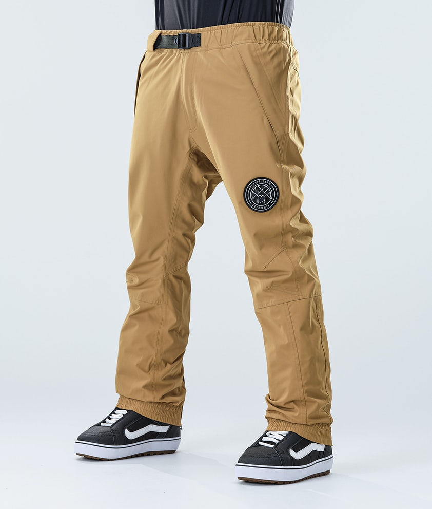 Dope Blizzard Snowboard Pants Gold