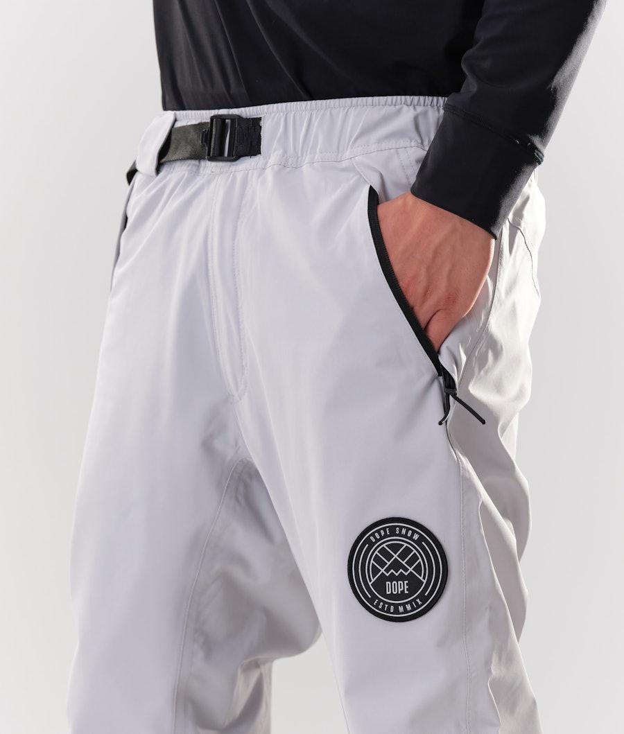 Dope Blizzard Snowboard Pants Light Grey