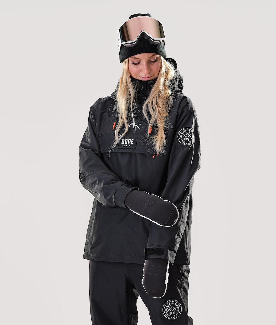Dope Blizzard PO W Snowboard Jacket Black