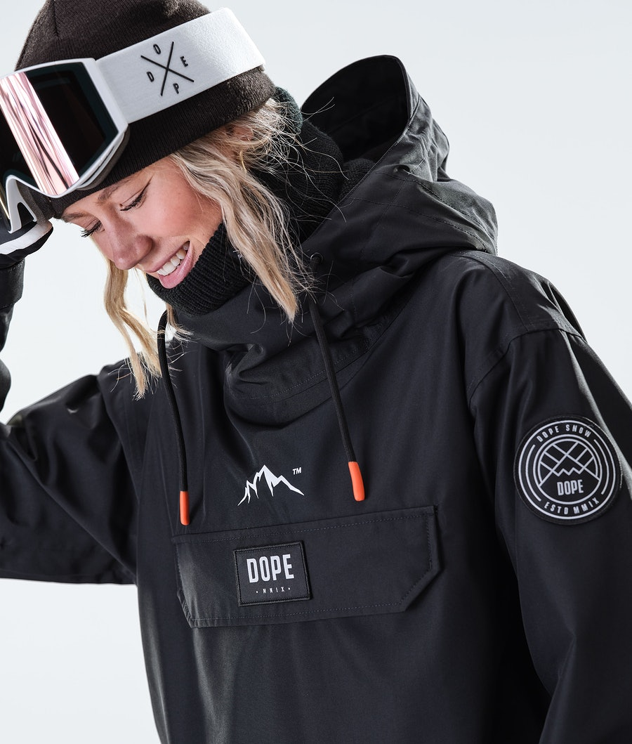 Dope Blizzard PO W Women's Snowboard Jacket Black