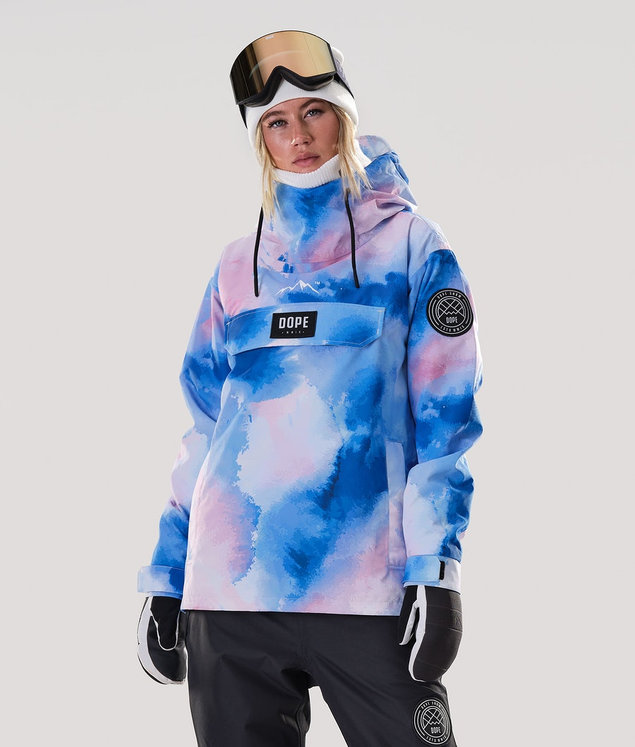 Dope Blizzard PO W Snowboard Jacket Cloud