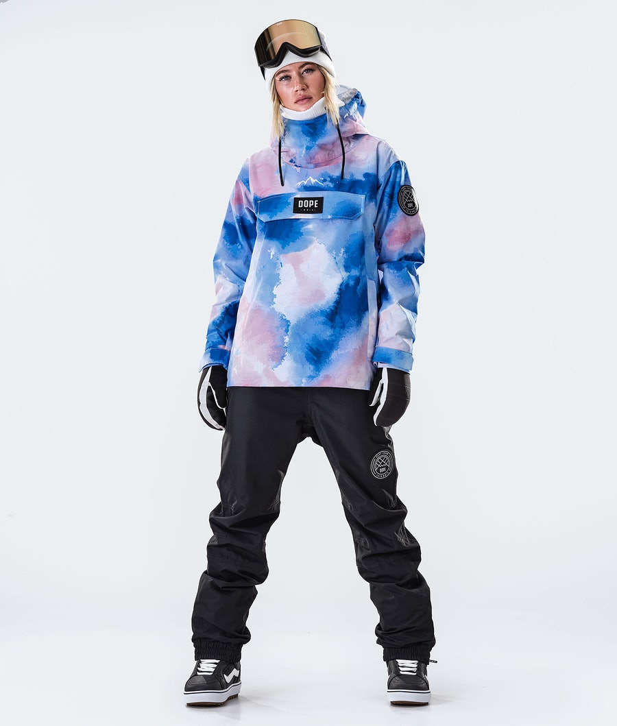 Dope Blizzard PO W Women's Snowboard Jacket Cloud