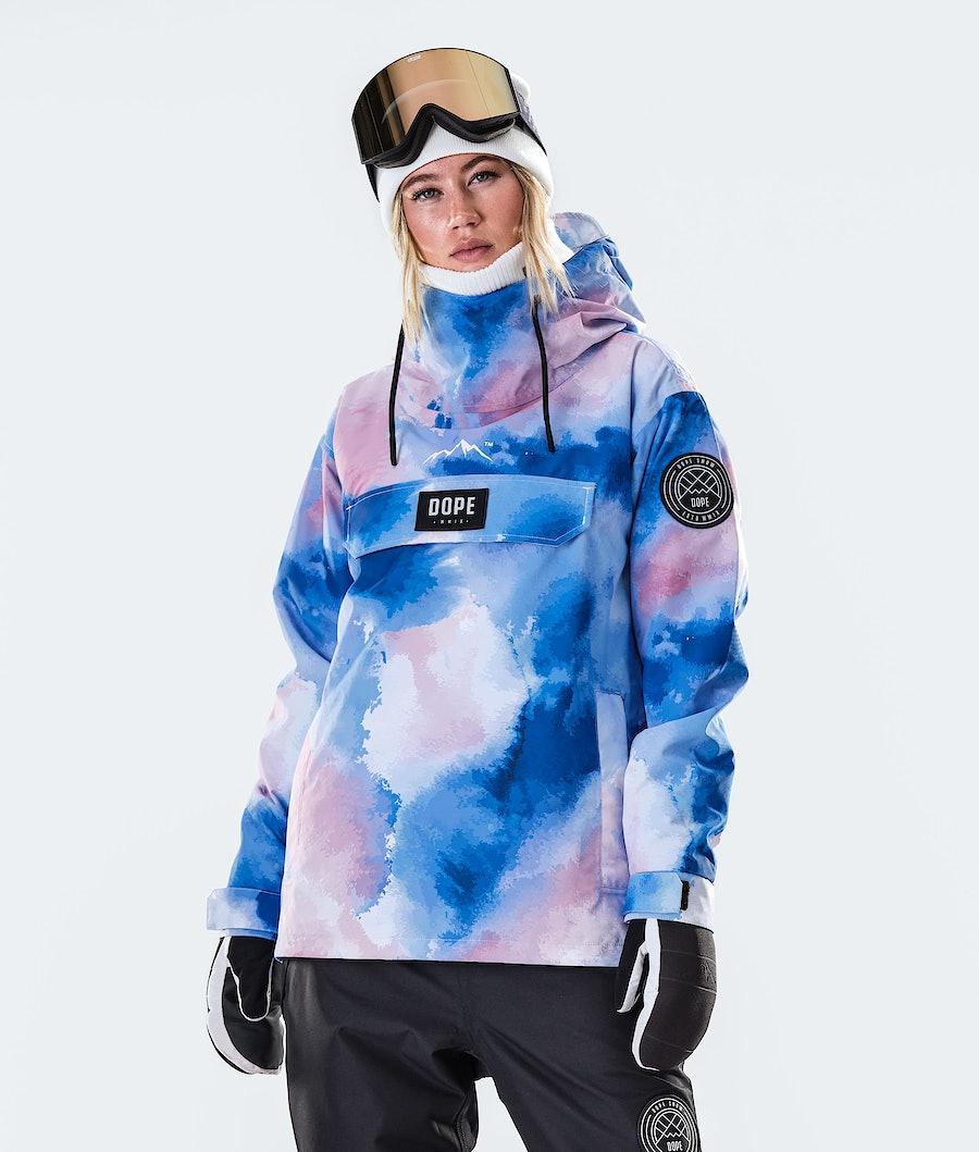 Dope Blizzard PO W Skijacke Cloud