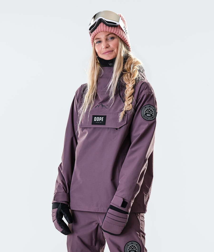 Dope Blizzard PO W Women's Ski Jacket Faded Grape