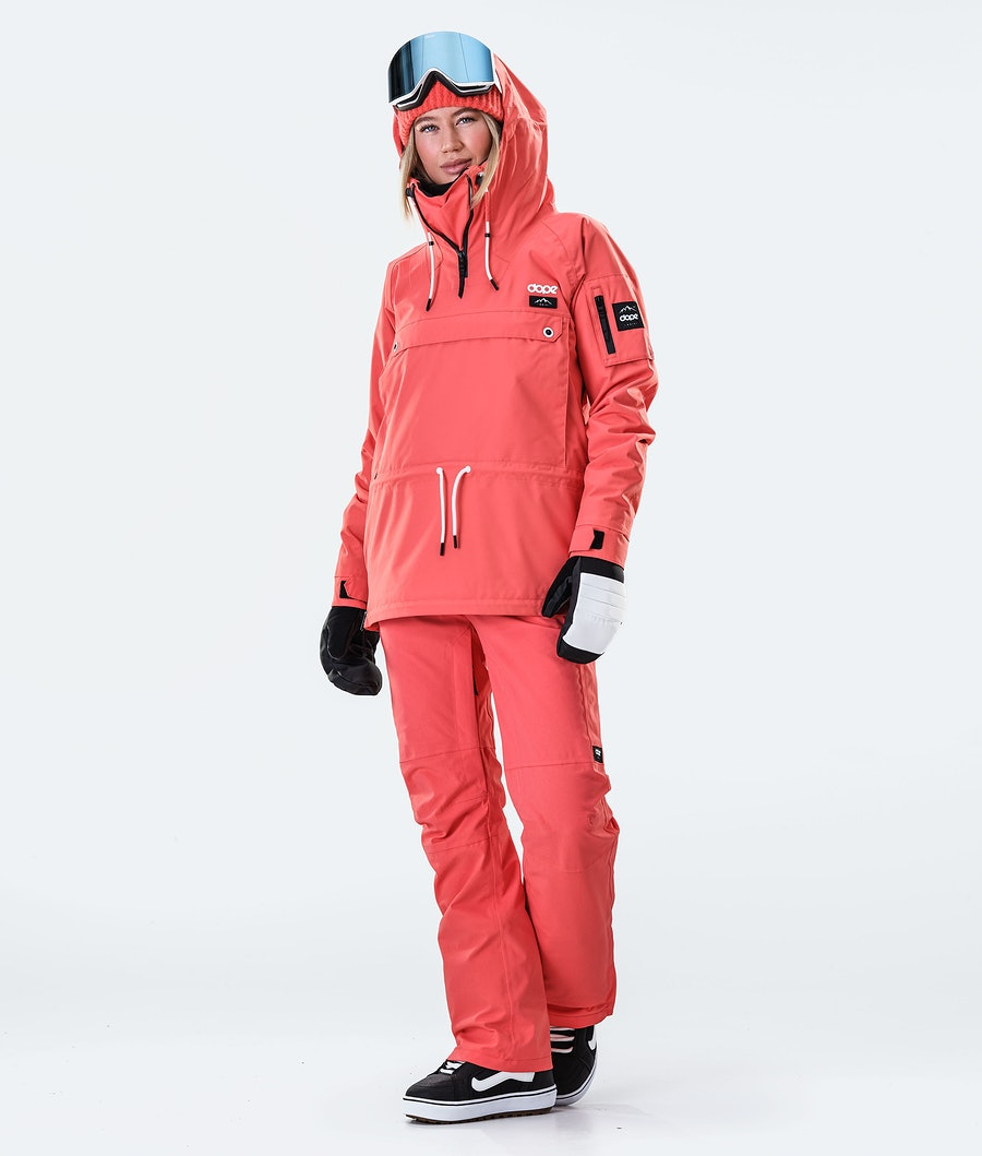 Dope Annok W Women's Snowboard Jacket Coral