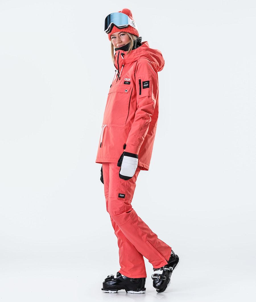 Dope Annok W Veste de Ski Femme Coral