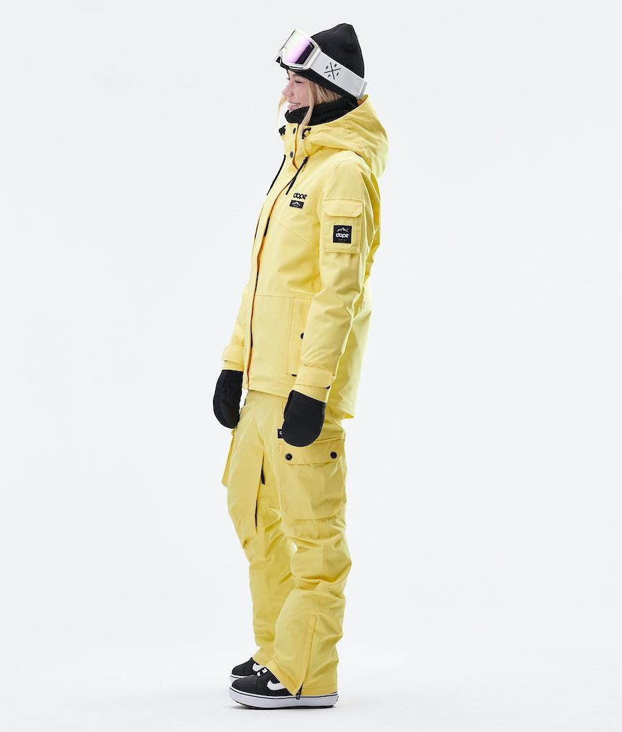 Dope Adept W Snowboardjacke Damen Faded Yellow