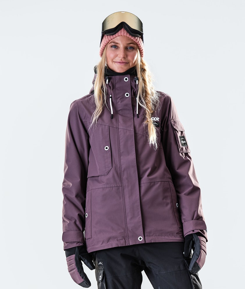 Dope Adept W Snowboard Jacket Faded Grape