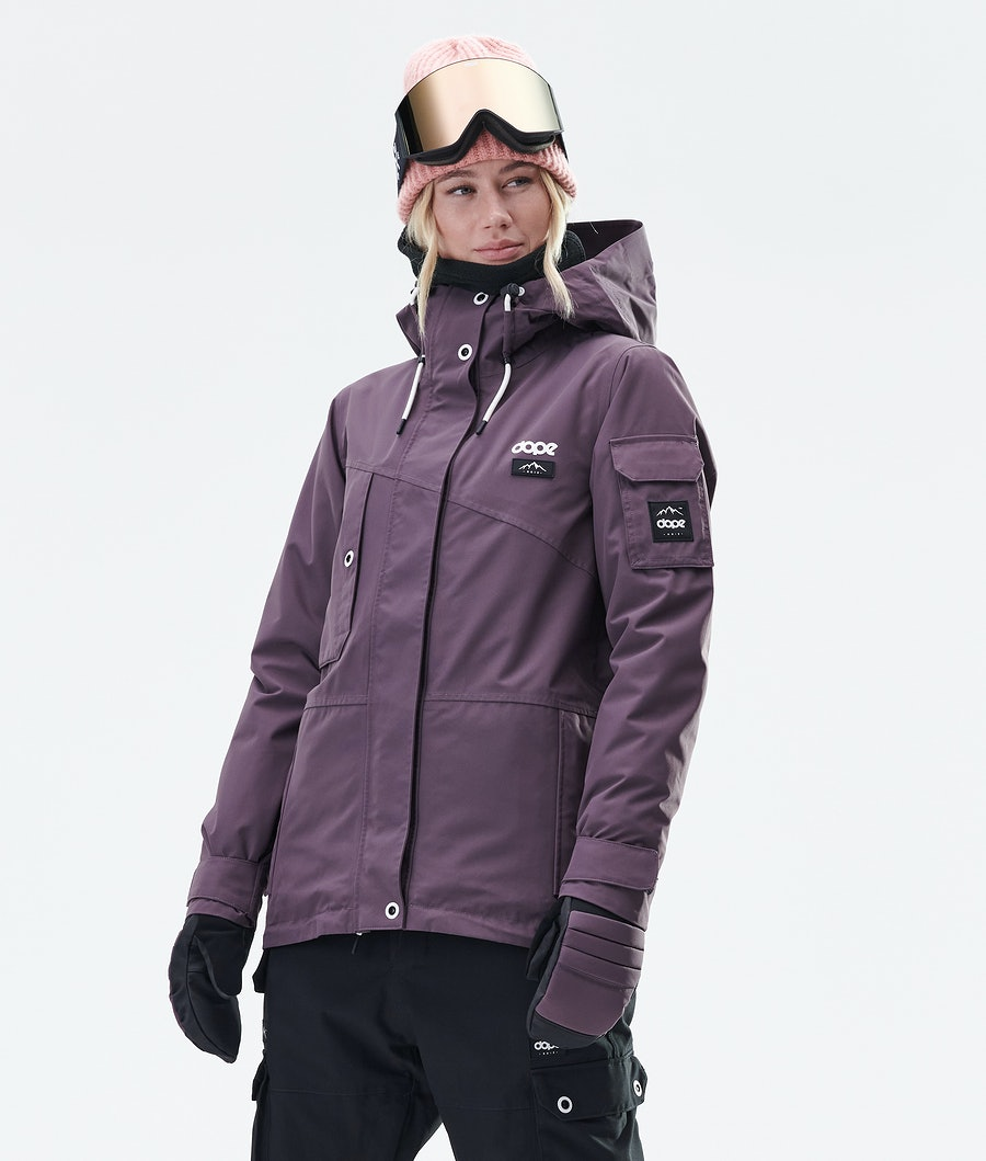Dope Adept W Women's Snowboard Jacket Faded Grape