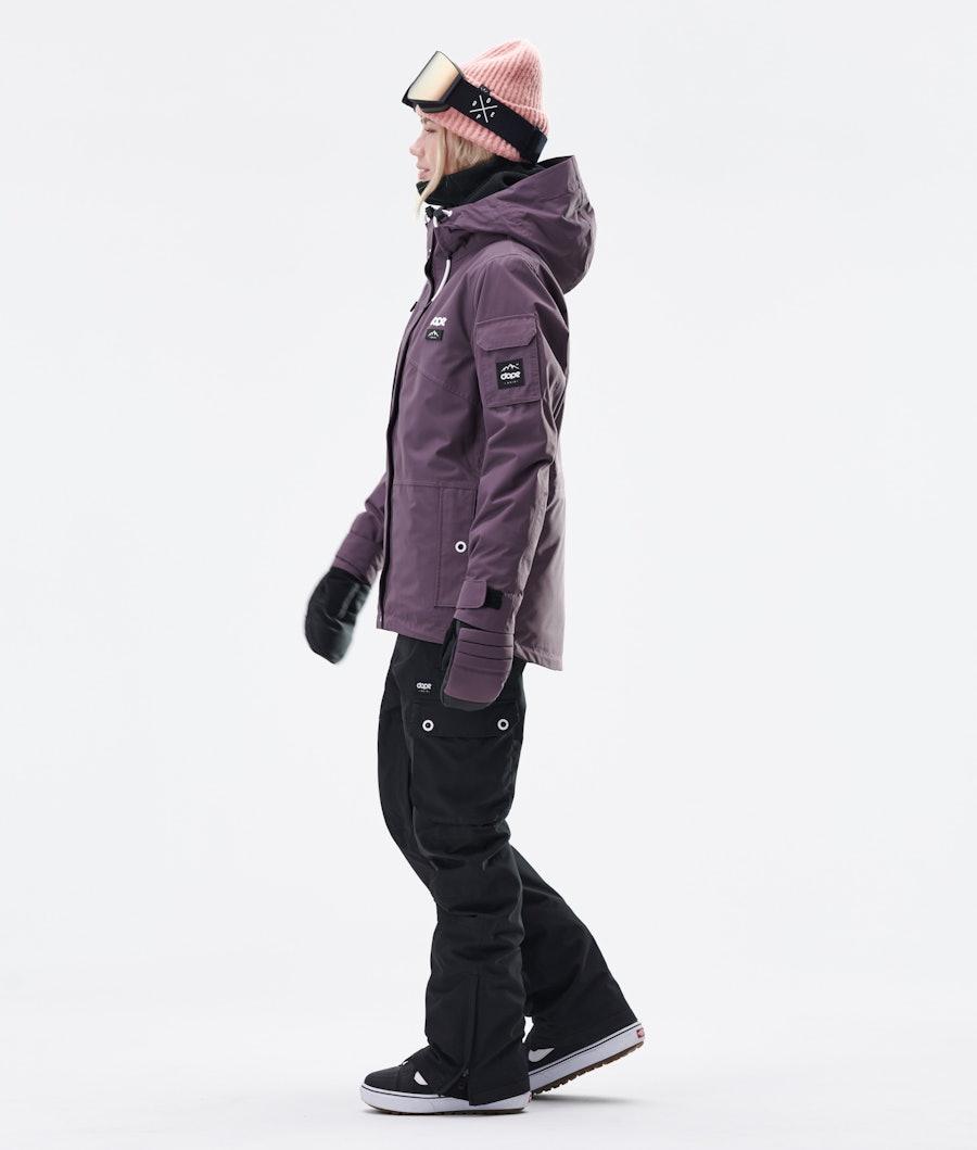 Dope Adept W Snowboardjacke Damen Faded Grape