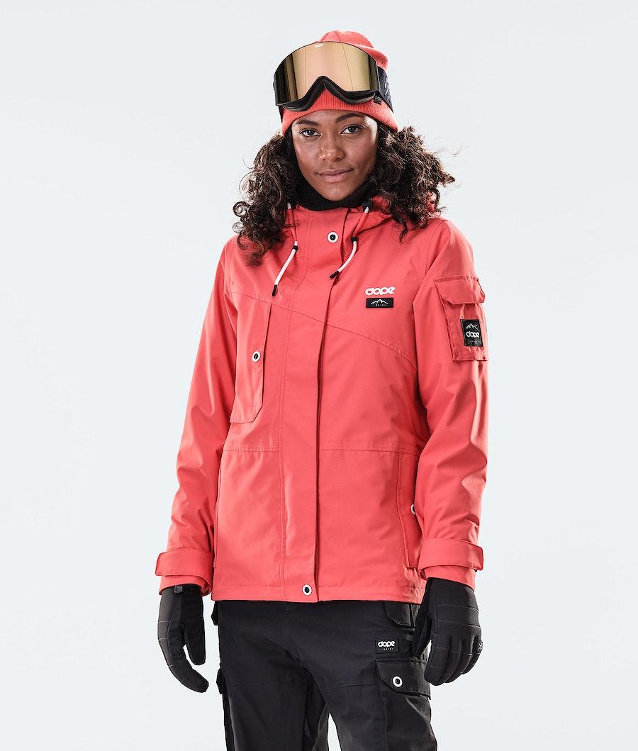 Dope Adept W Snowboard Jacket Coral