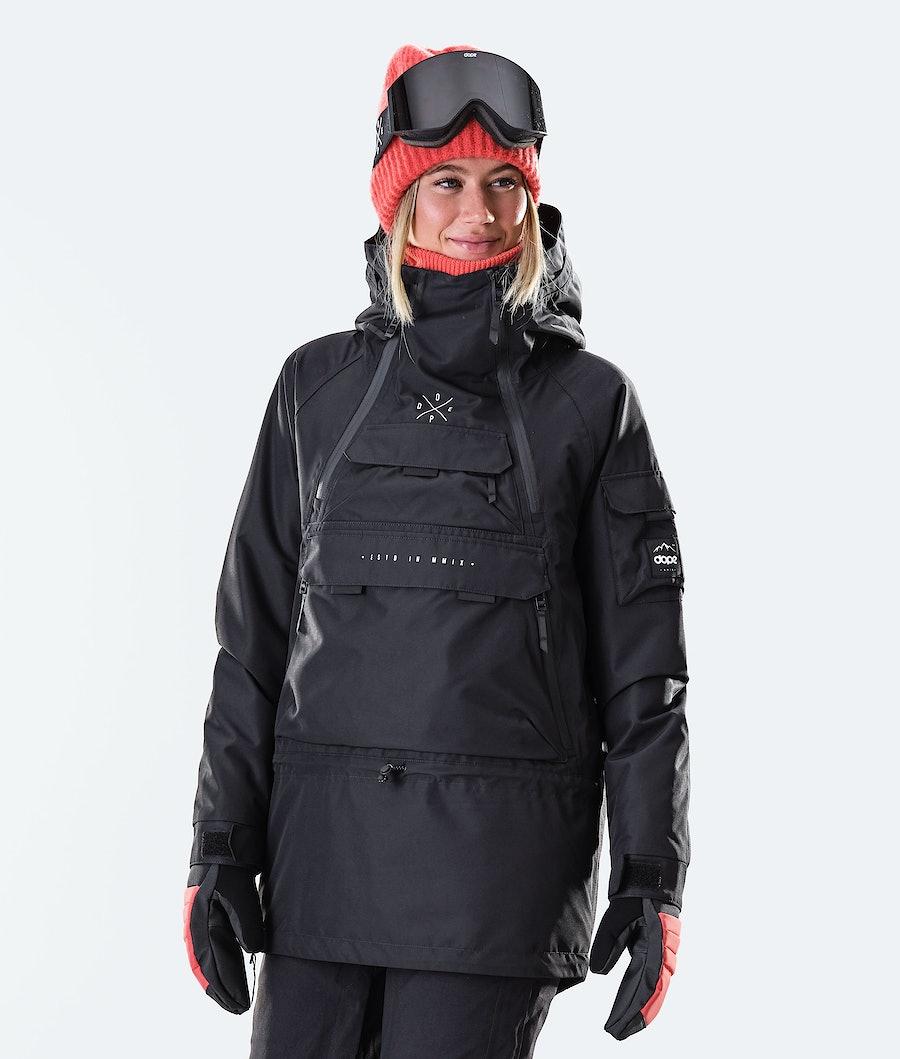 Dope Akin W Giacca da Snowboard Black