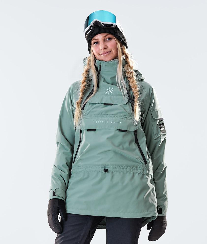 Dope Akin W Ski Jacket Faded Green