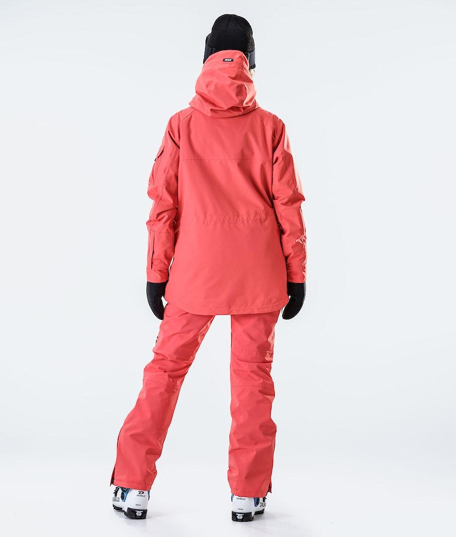 Dope Akin W Women's Ski Jacket Coral