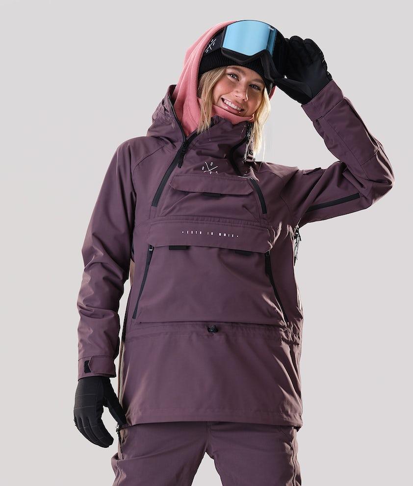 Dope Akin W Veste de Snowboard Faded Grape