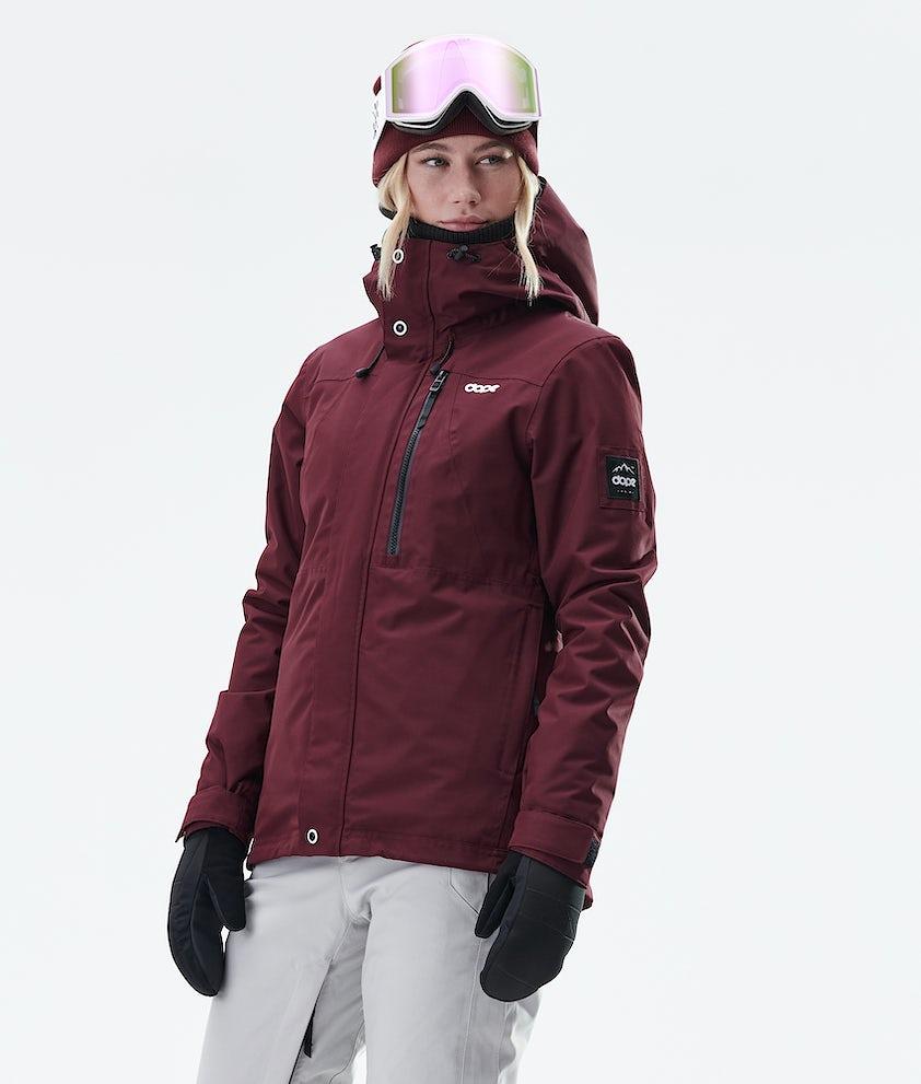 Dope Divine Snowboard Jacket Burgundy