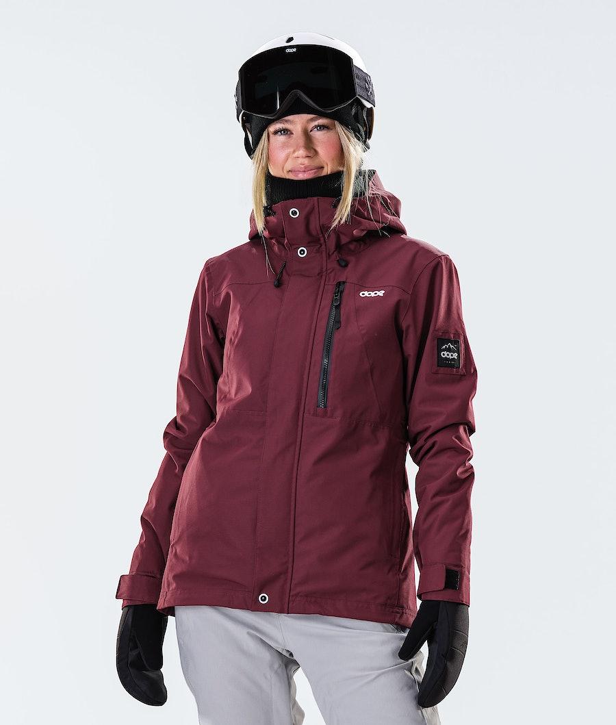 Dope Divine Ski Jacket Burgundy