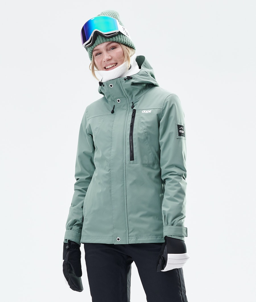 Dope Divine Snowboardjacke Faded Green