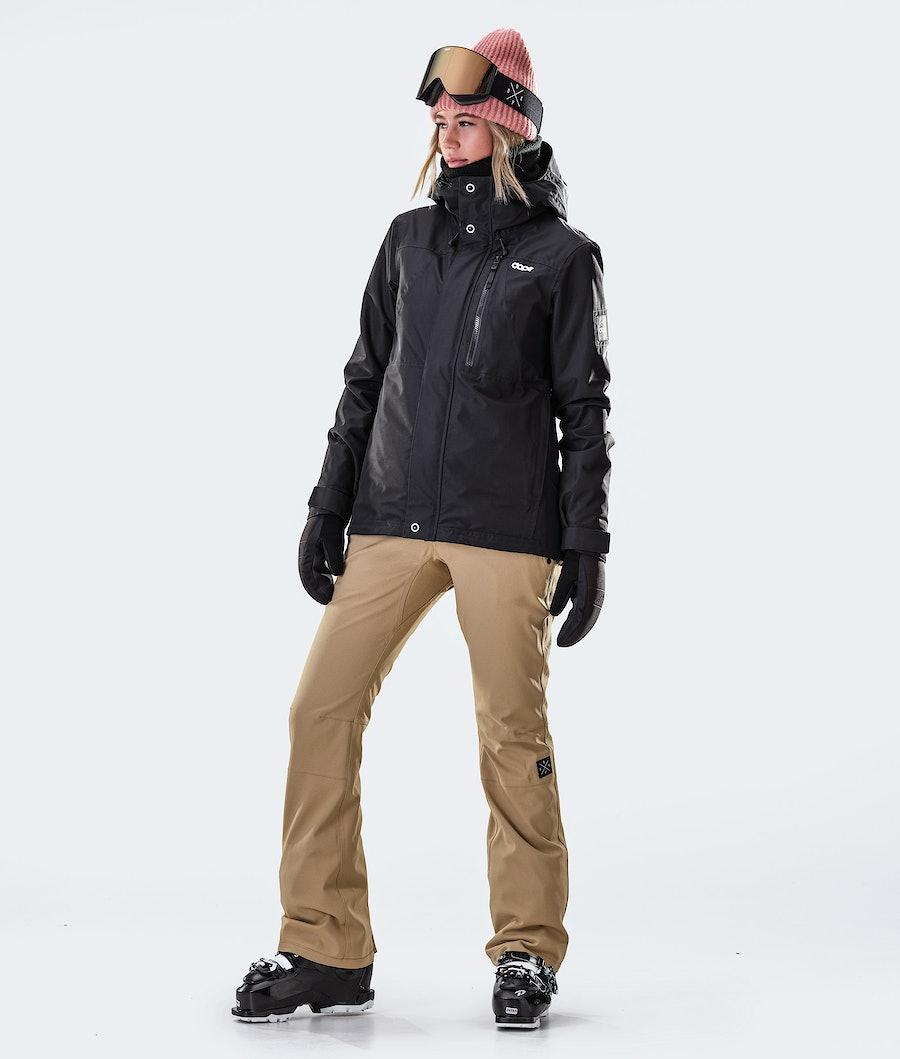 Dope Divine Veste de Ski Femme Black