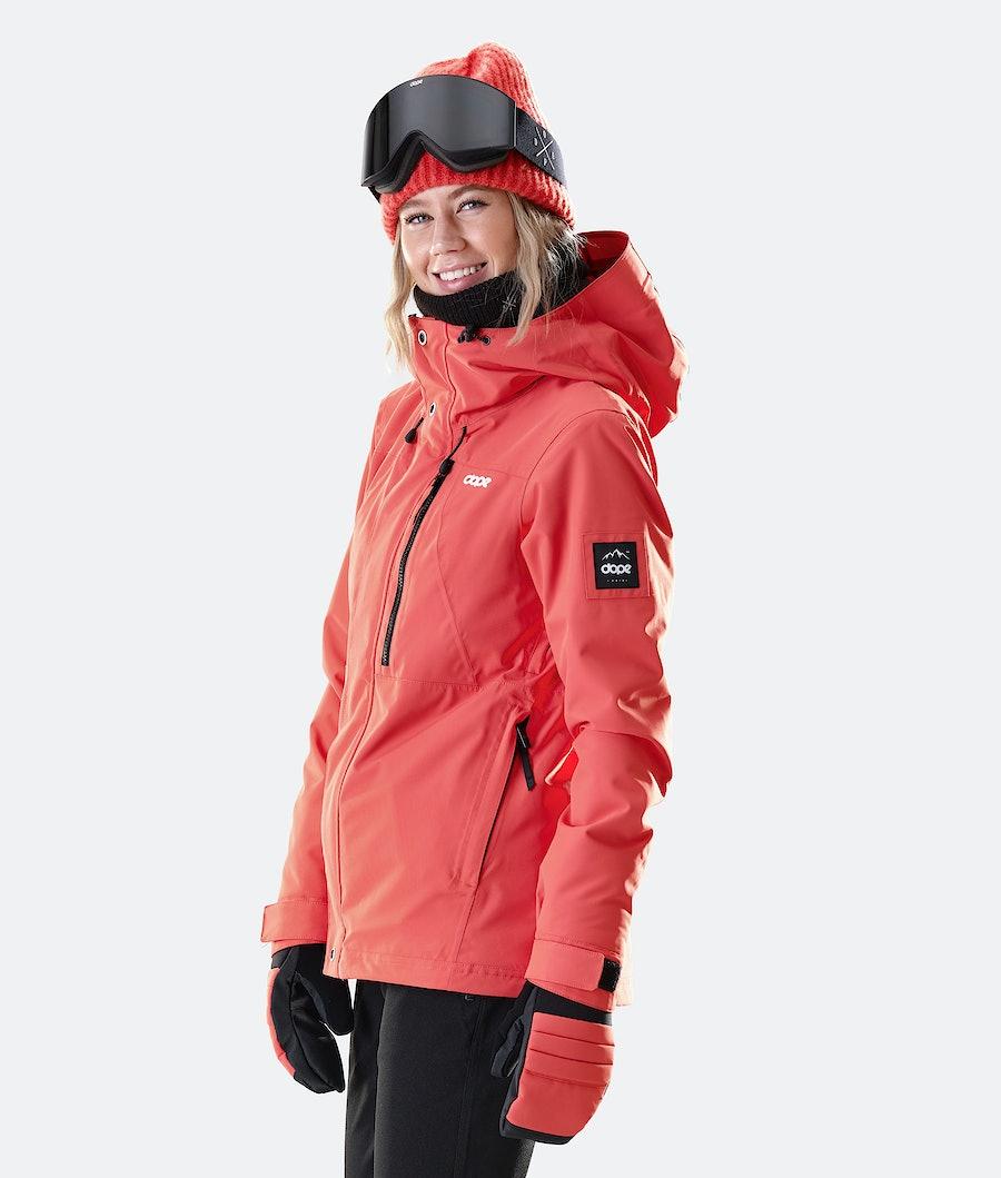 Dope Divine Veste de Ski Femme Coral