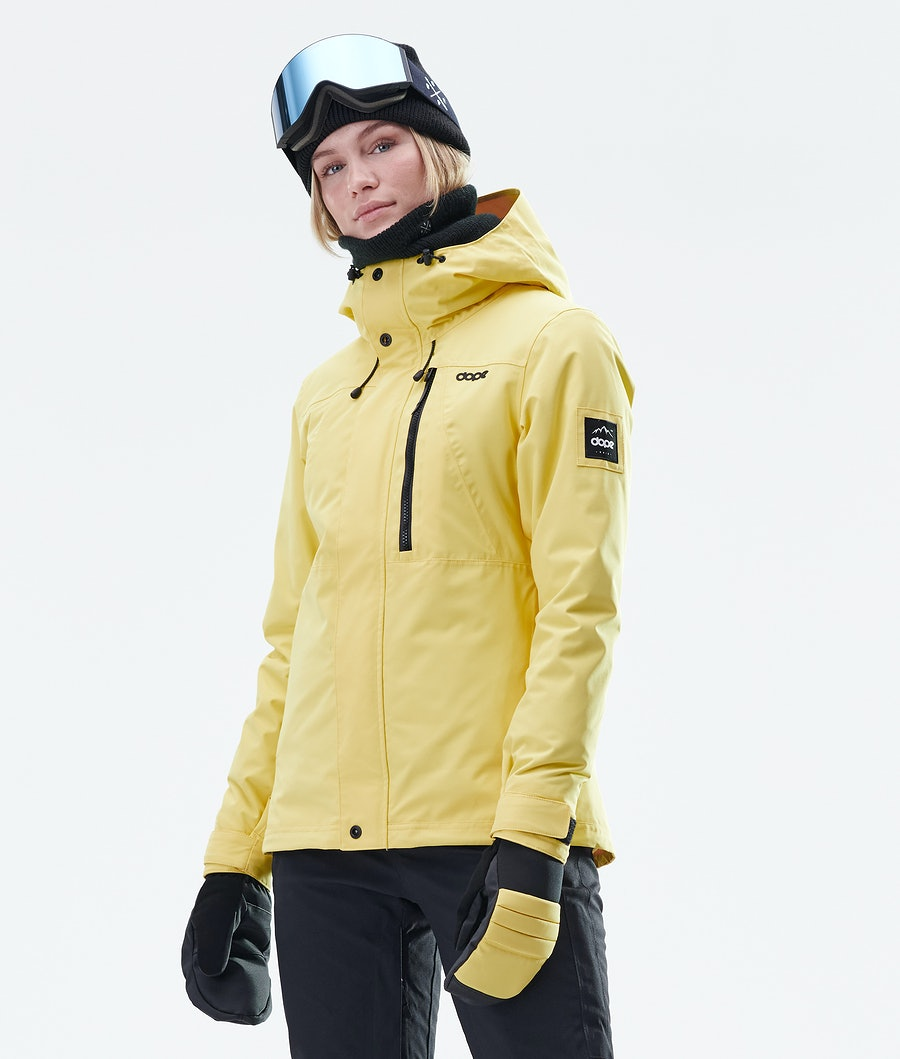 Dope Divine Veste de Snowboard Faded Yellow