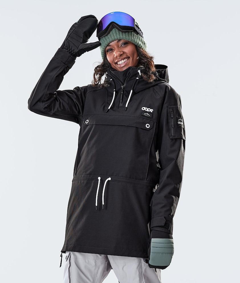 Dope Annok Long Snowboard Jacket Black