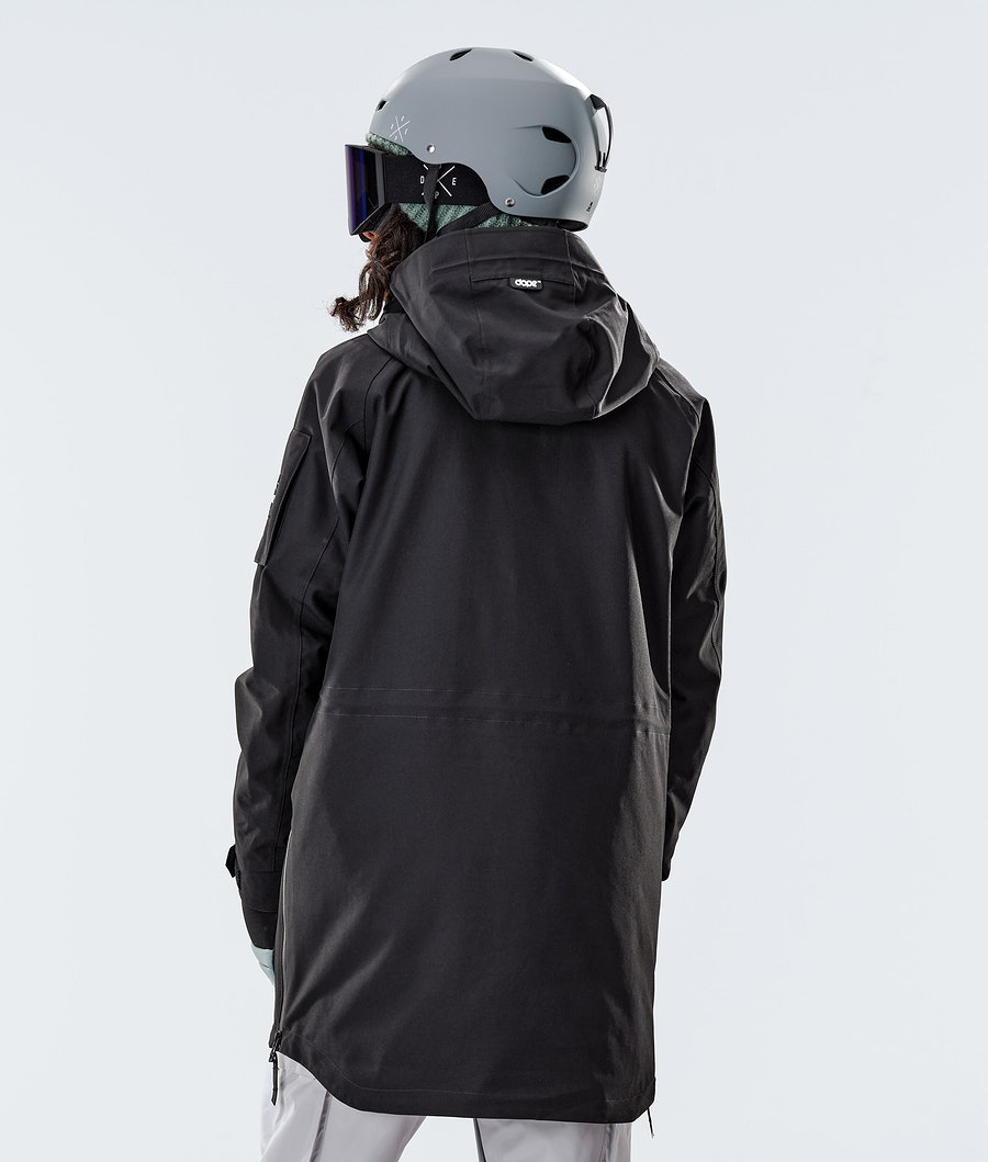 Dope Annok Long Women's Snowboard Jacket Black