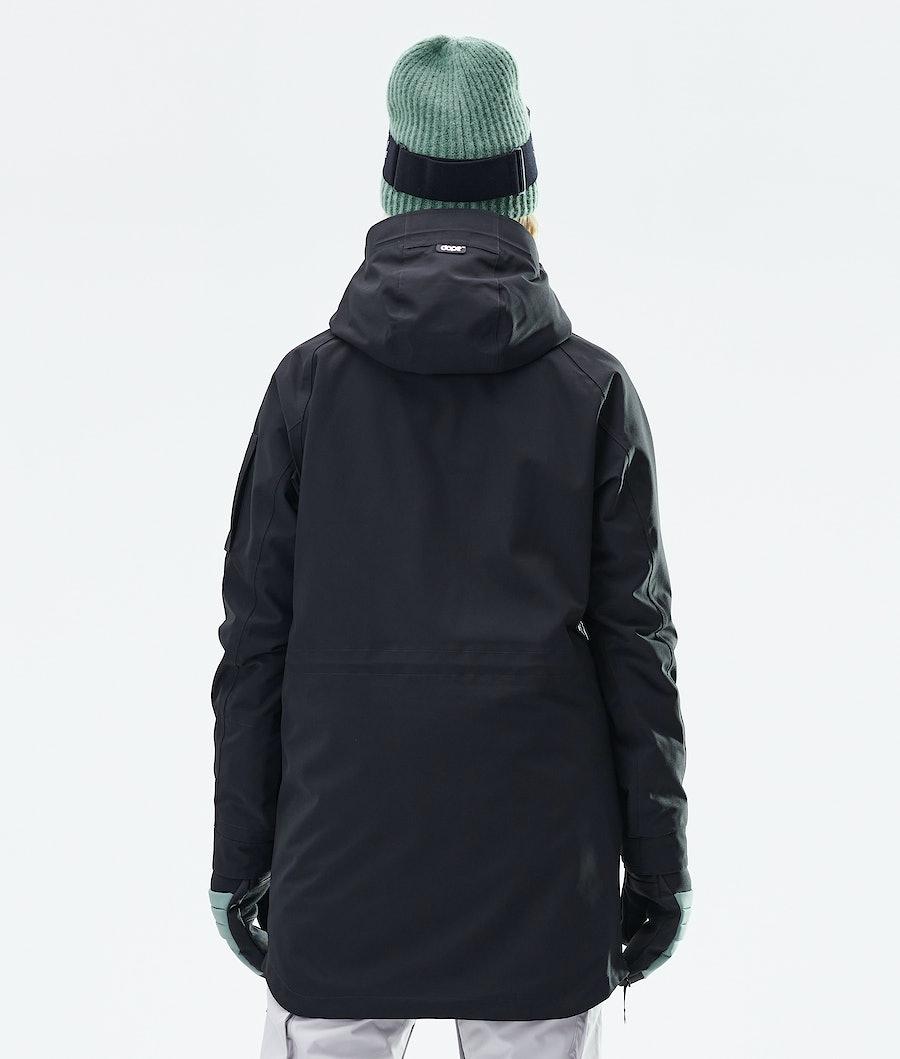Dope Annok Long Women's Snowboard Jacket Black