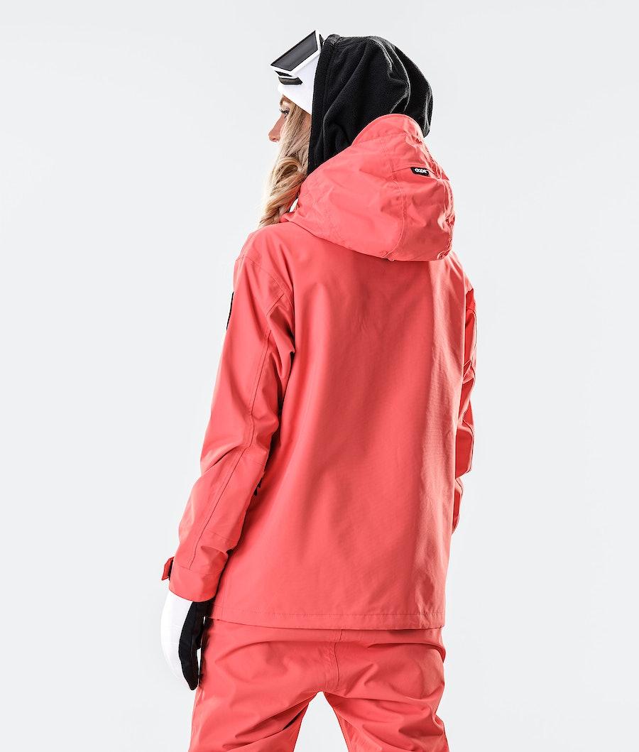 Dope Blizzard FZ W Veste de Snowboard Femme Coral