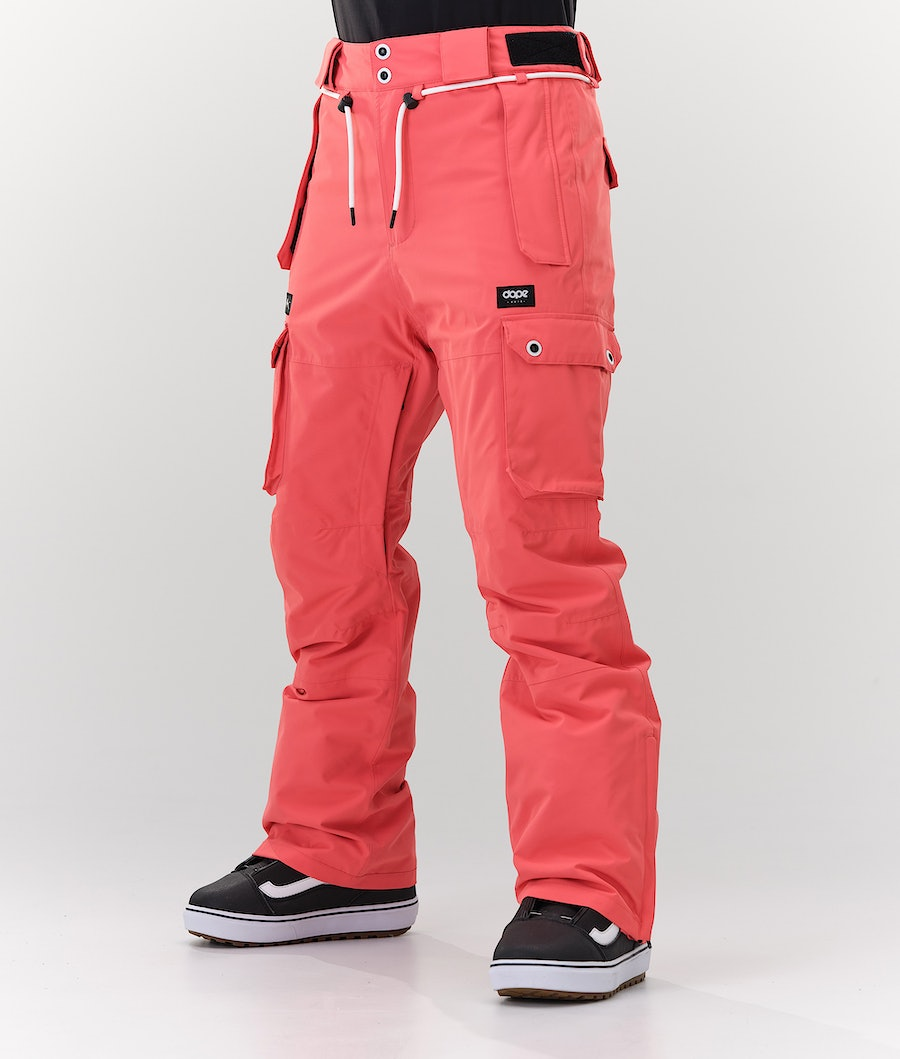 Dope Iconic W Snowboard Pants Coral